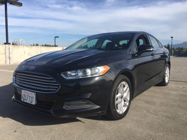 2013 FORD FUSION SE 4DR SEDAN black 18 inch wheels 2-stage unlocking doors abs - 4-wheel activ