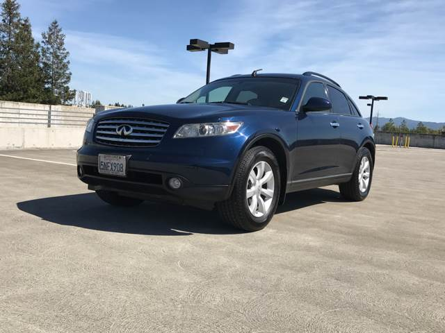 2005 INFINITI FX35 BASE AWD 4DR SUV blue abs - 4-wheel anti-theft system - alarm axle ratio - 3
