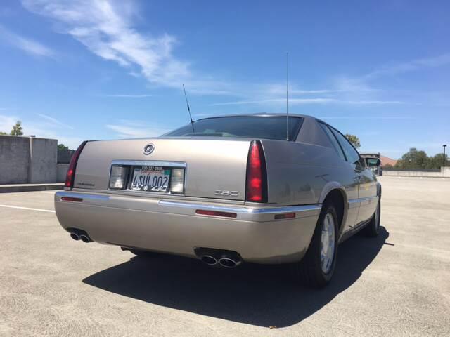 2001 Cadillac Eldorado for sale at Car Time Inc in San Jose CA