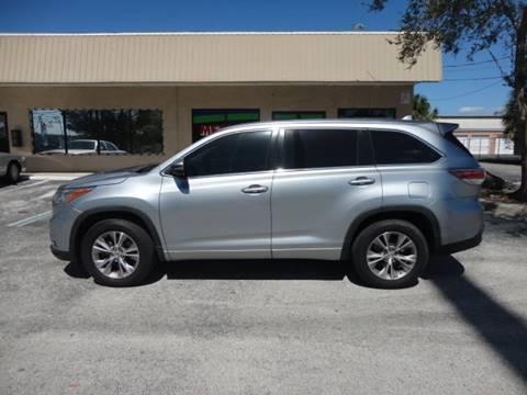 2015 Toyota Highlander for sale at Metro Auto of Orlando in Ocoee FL