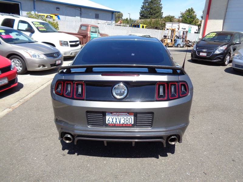 2013 Ford Mustang GT Premium 2dr Fastback - Vacaville CA