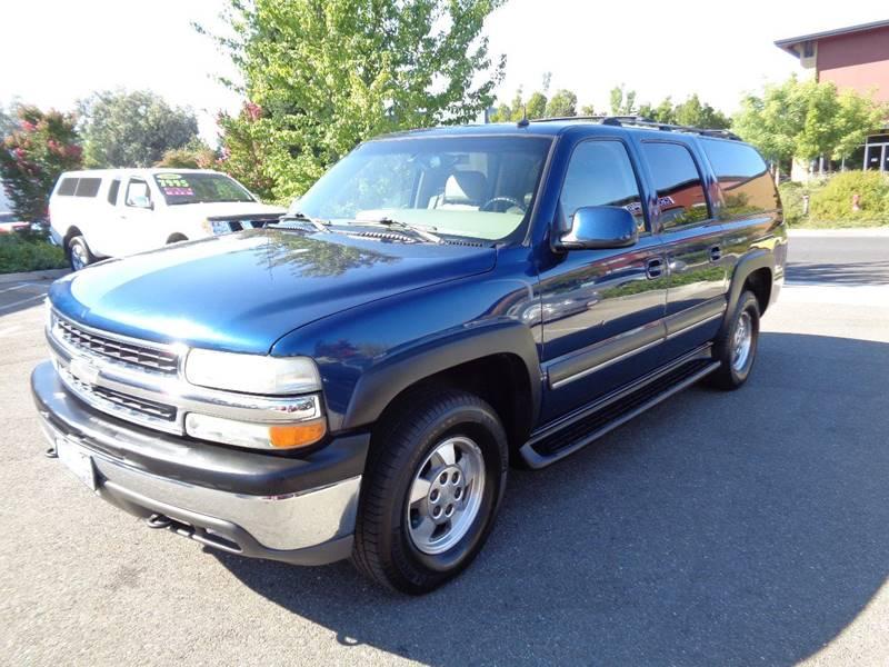 2002 Chevrolet Suburban 1500 LT 4WD 4dr SUV - Vacaville CA