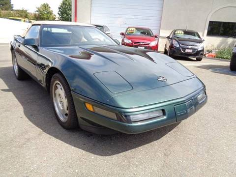 1995 Chevrolet Corvette for sale in Vacaville, CA