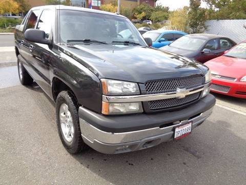 2004 Chevrolet Avalanche for sale in Vacaville, CA