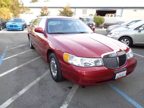 1999 Lincoln Town Car for sale in Vacaville, CA