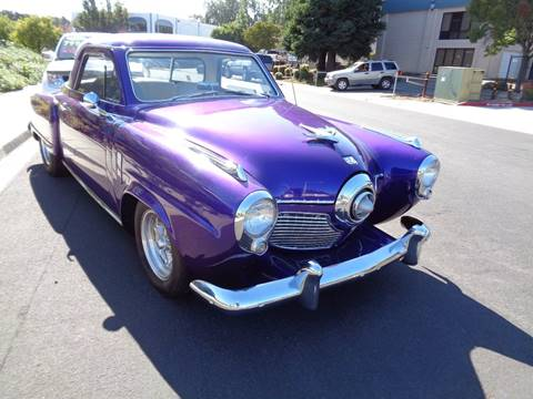 1951 Studebaker Starlight Coupe for sale in Vacaville, CA