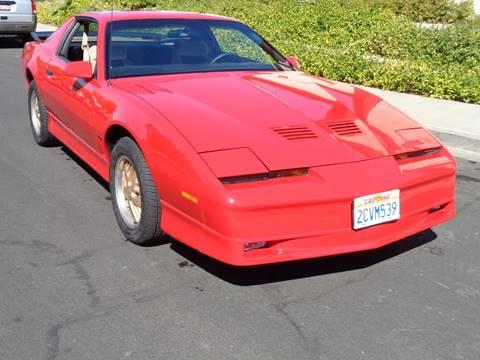 1986 Pontiac Firebird for sale in Vacaville, CA