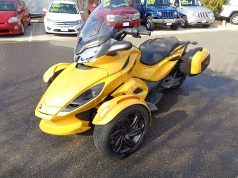 Can Am Spyder For Sale >> 2013 Can Am Spyder Sts Se 5 For Sale In Vacaville Ca