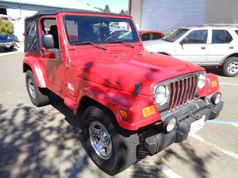 2003 Jeep Wrangler for sale in Vacaville, CA