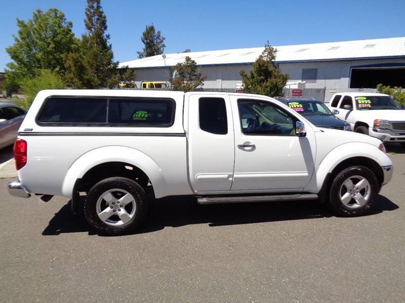 2006 Nissan Frontier LE 4dr King Cab 4WD SB - Vacaville CA
