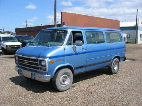 1995 Chevrolet Sportvan for sale in Glendive, MT
