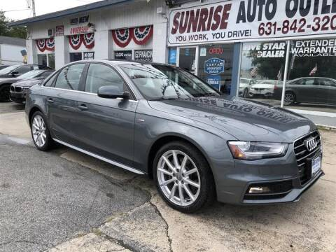 Sunrise Auto Outlet >> Audi A4 For Sale In Amityville Ny Sunrise Auto Outlet