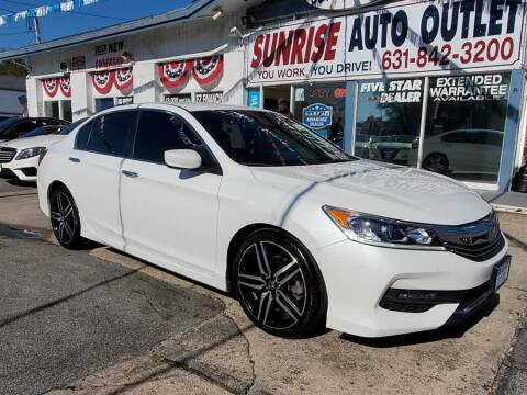 Sunrise Auto Outlet >> Honda Accord For Sale In Amityville Ny Sunrise Auto Outlet