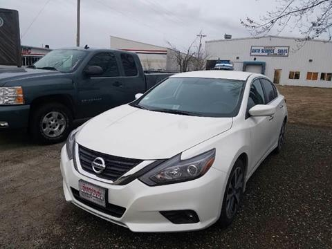 2016 Nissan Altima for sale at Swan Auto in Roscoe IL