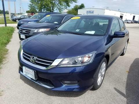 2015 Honda Accord for sale at Swan Auto in Roscoe IL
