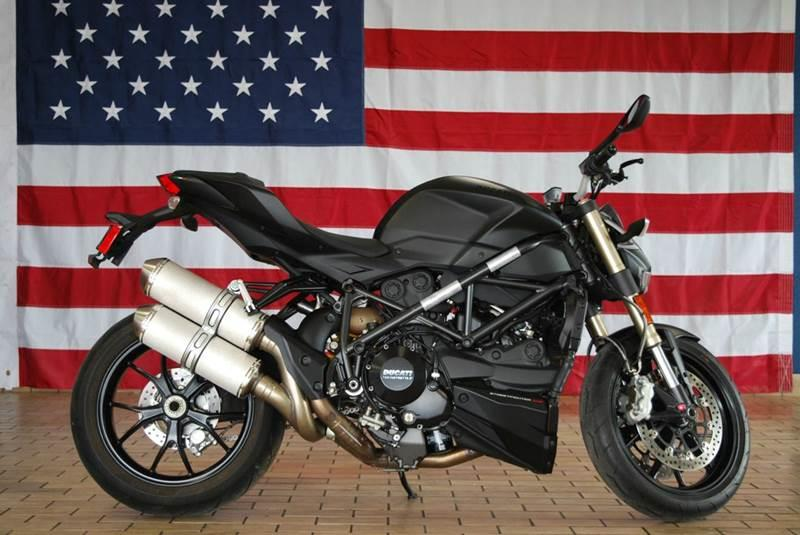 2013 Ducati StreetFighter 848 for sale at JW Auto Sales LLC in Harrisonburg VA