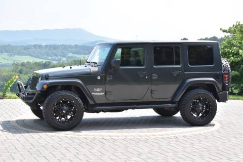 2010 Jeep Wrangler Unlimited for sale at JW Auto Sales LLC in Harrisonburg VA