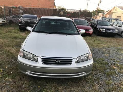 2000 Toyota Camry for sale at A & B Auto Finance Company in Alexandria VA