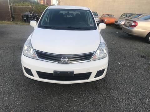 2012 Nissan Versa for sale at A & B Auto Finance Company in Alexandria VA