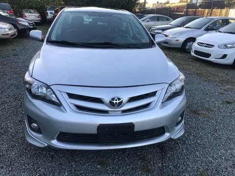 2012 Toyota Corolla for sale at A & B Auto Finance Company in Alexandria VA