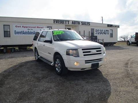 2008 Ford Expedition Limited for sale at Everett Auto Sales in Austin TX