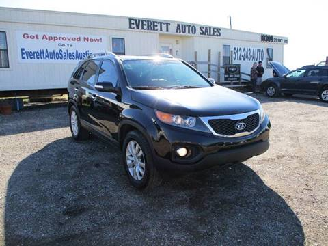 2011 Kia Sorento EX for sale at Everett Auto Sales in Austin TX