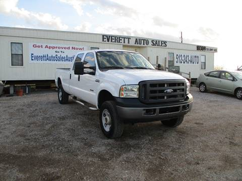 2006 Ford F-350 Super Duty XL for sale at Everett Auto Sales in Austin TX