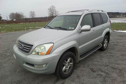 2003 Lexus GX 470 for sale at WESTERN RESERVE AUTO SALES in Beloit OH