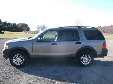 2003 Ford Explorer for sale at WESTERN RESERVE AUTO SALES in Beloit OH