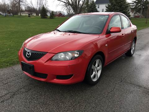 2005 Mazda MAZDA3 for sale at WESTERN RESERVE AUTO SALES in Beloit OH