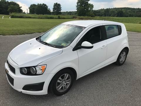 2012 Chevrolet Sonic for sale at WESTERN RESERVE AUTO SALES in Beloit OH