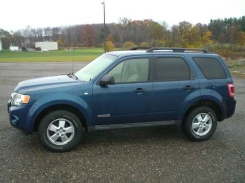 2008 Ford Escape for sale at WESTERN RESERVE AUTO SALES in Beloit OH