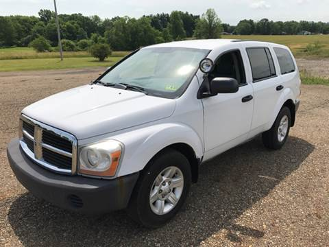 2004 Dodge Durango for sale at WESTERN RESERVE AUTO SALES in Beloit OH