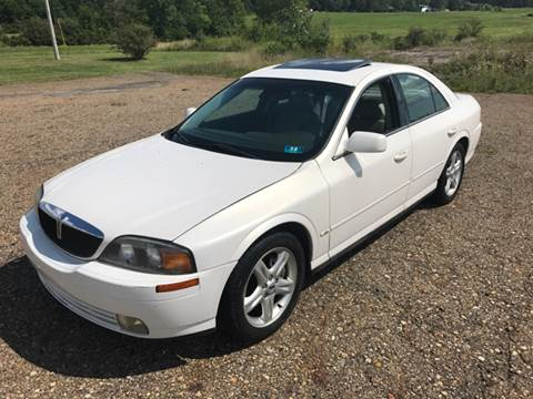 2001 Lincoln LS for sale at WESTERN RESERVE AUTO SALES in Beloit OH