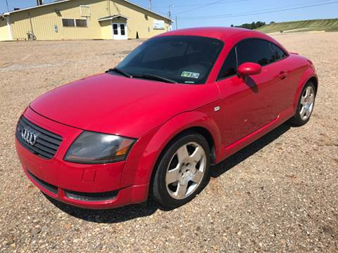 2001 Audi TT for sale at WESTERN RESERVE AUTO SALES in Beloit OH