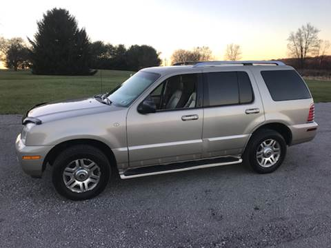 2004 Mercury Mountaineer for sale at WESTERN RESERVE AUTO SALES in Beloit OH