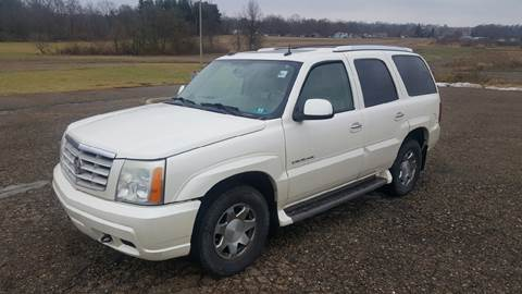 2004 Cadillac Escalade for sale at WESTERN RESERVE AUTO SALES in Beloit OH