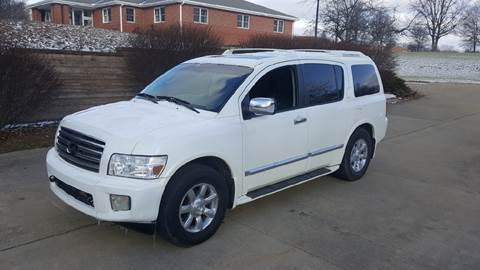 2006 Infiniti QX56 for sale at WESTERN RESERVE AUTO SALES in Beloit OH