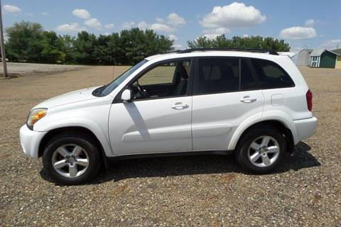 2005 Toyota RAV4 for sale at WESTERN RESERVE AUTO SALES in Beloit OH