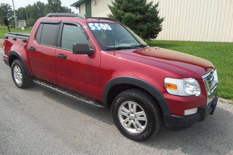 2007 Ford Explorer Sport Trac for sale at WESTERN RESERVE AUTO SALES in Beloit OH