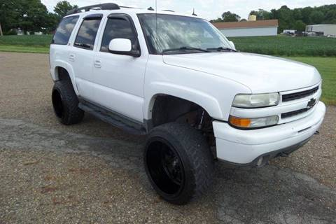 2003 Chevrolet Tahoe for sale at WESTERN RESERVE AUTO SALES in Beloit OH