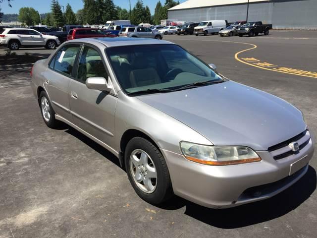 1998 Honda Accord Ex V6 In Tacoma Wa Unlimited Auto Deals Llc