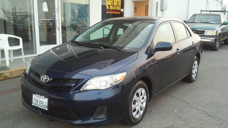 2013 Toyota Corolla for sale at Safi Auto in Sacramento CA