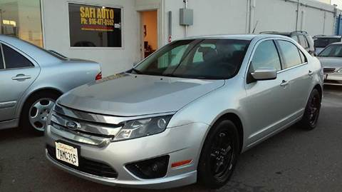 2010 Ford Fusion for sale at Safi Auto in Sacramento CA