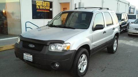 2006 Ford Escape Hybrid for sale at Safi Auto in Sacramento CA