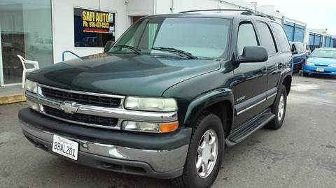 2002 Chevrolet Tahoe for sale at Safi Auto in Sacramento CA