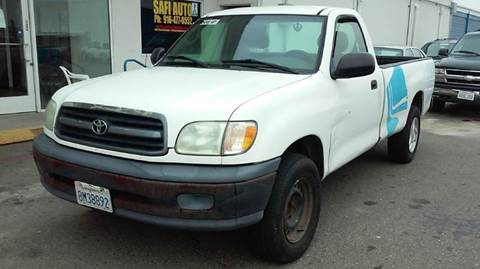 2002 Toyota Tundra for sale at Safi Auto in Sacramento CA
