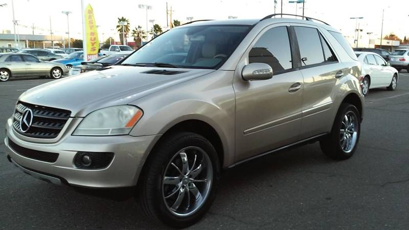 2006 Mercedes Benz M Class Awd Ml 350 4matic 4dr Suv In Sacramento