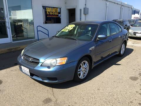 2005 Subaru Legacy for sale at Safi Auto in Sacramento CA