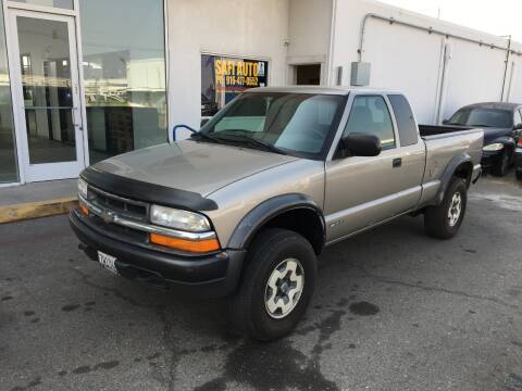 2000 Chevrolet S-10 for sale at Safi Auto in Sacramento CA